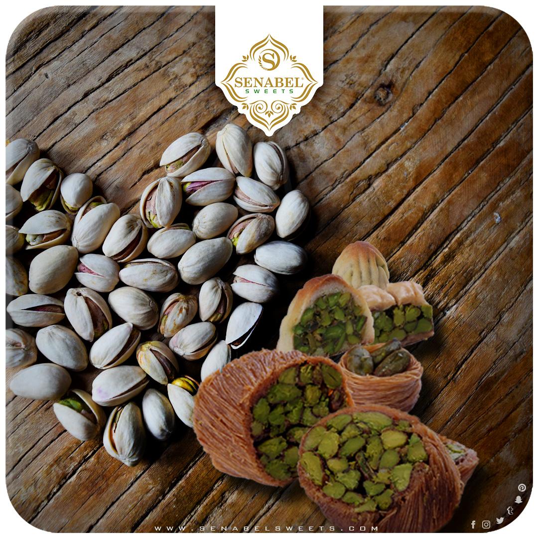 ًلجميع أوقاتك ومناسباتك حلويات سنابل تصنع بأجود المواد الطبيعية حصرا